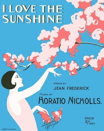 I Love the Sunshine - Anonymous Prints - Easyart.com