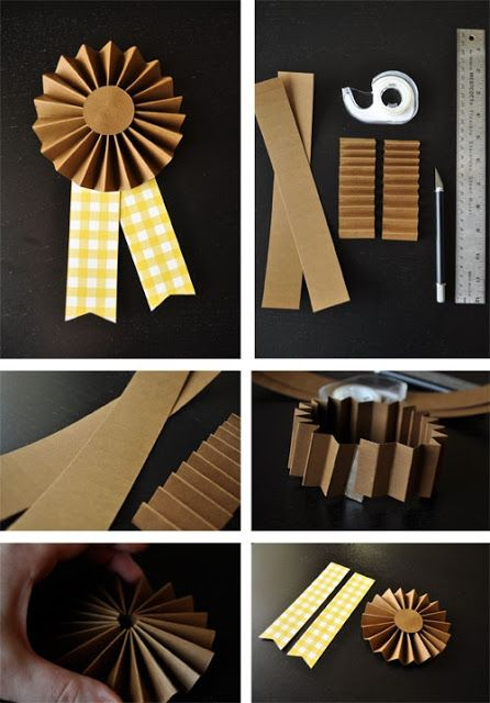 prizeworthy paper ribbons