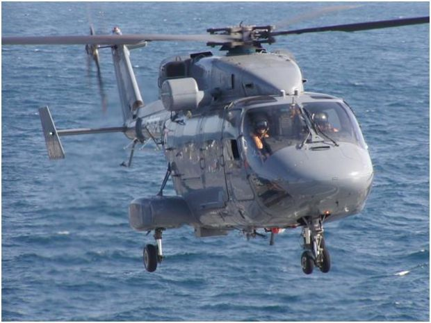 Indian Navy Hindustan Aeronautics HAL Dhruv MkII multipurpose utility helicopter. HAL received order for a further 32 for the Indian Navy and Coast Guard. The Indian Navy already operates 8 and 4 with Coast Guard.