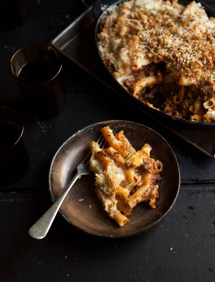 Bolognese mac and cheese on DrizzleandDip.com