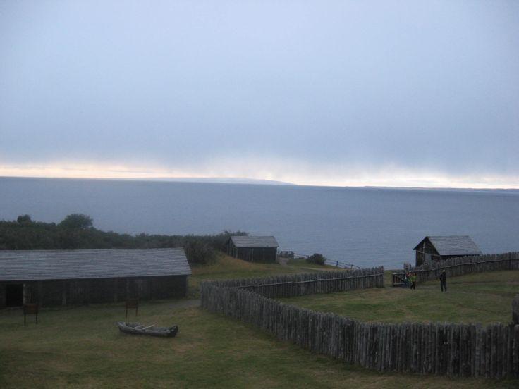 Vista desde el Fuerte Bulnes