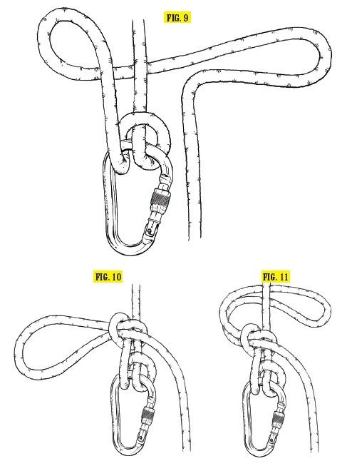 """Munter-Mule-Overhand (MMO): This knot is key to getting """"hands free"""" on a belay, meaning you've tied off your climber so you can take your hand off the brake end of the rope. It builds off the Munter..."""