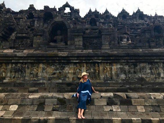 Considerado um dos maiores templos budistas do mundo, Borobudur na ilha de Java, Indonésia é Patrimônio Mundial da UNESCO desde 1991.