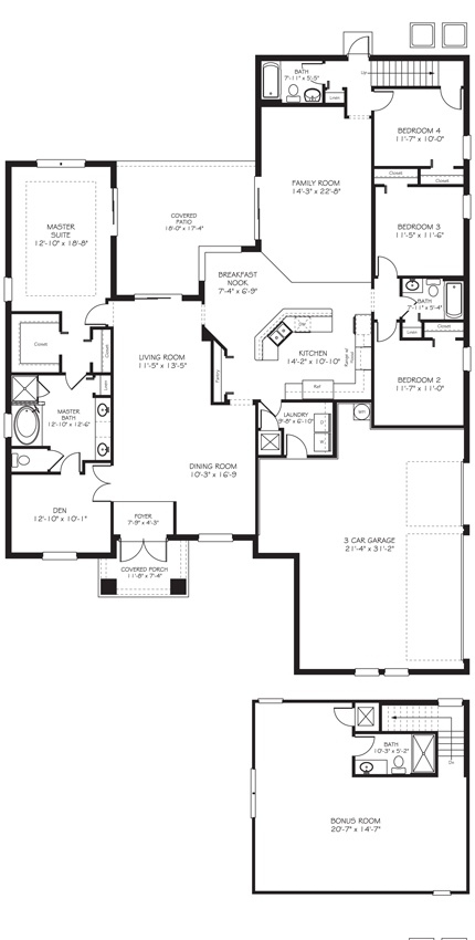 Charleston Grande Floor Plan Dream Home Pinterest