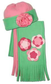 Creativity Center - Project Sheets - Fleece Projects - Rosettes and Flowers