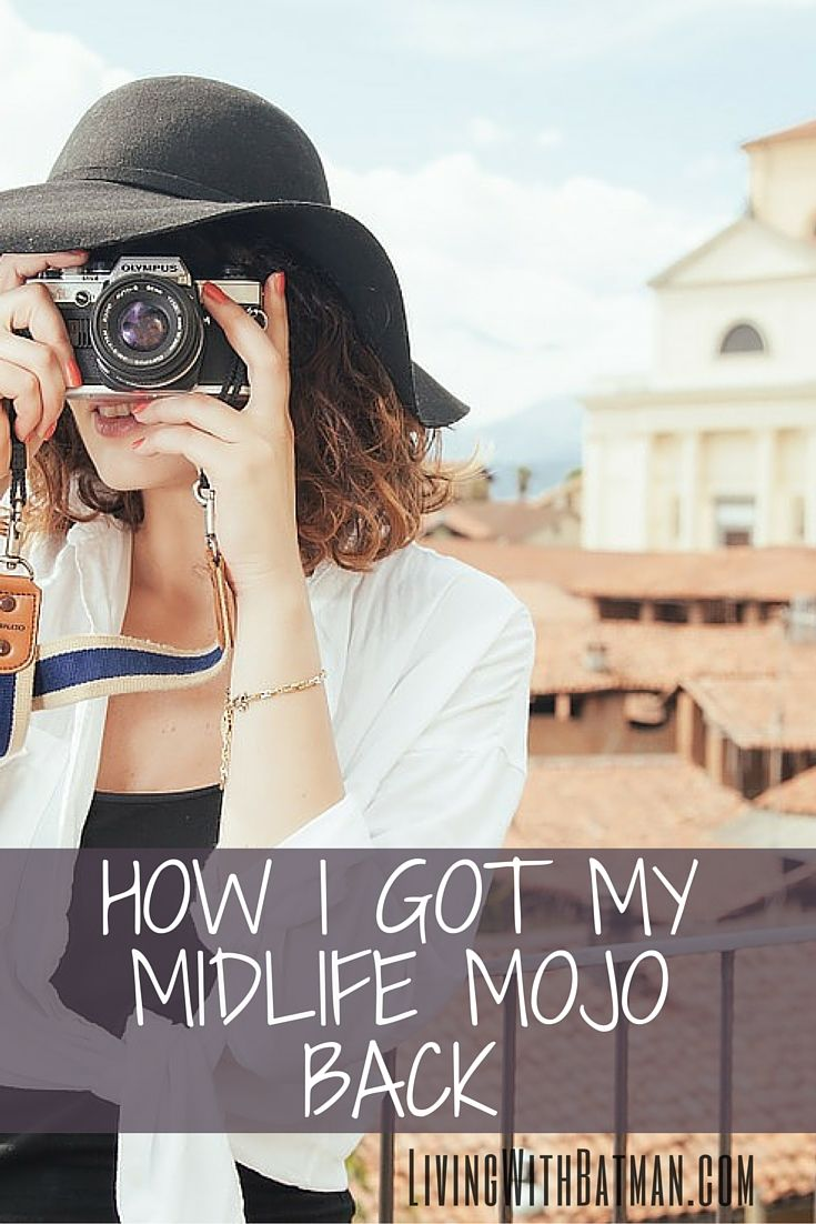 It's tough getting kicked hard at a time when you thought life would feel warm, safe and comfortable. It's painful and often so unexpected. You can turn it around. Get your mojo back with a midlife transition.