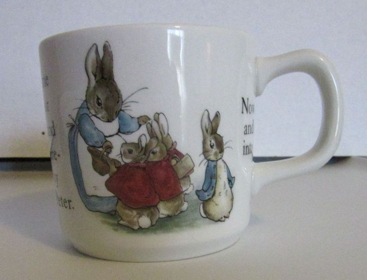65 best sonderlyns easter things images on pinterest easter bunny wedgwood beatrice potter peter rabbit baby cup mug gift porcelain negle Gallery