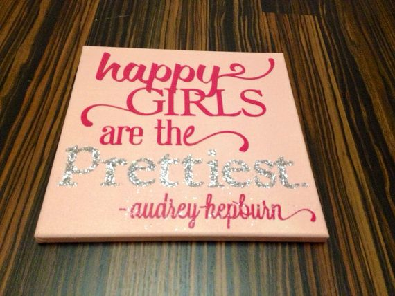 Baby Girl Wall Art. Quotes On Canvas. By TraylorMadeDesigns, $24.00 Part 67