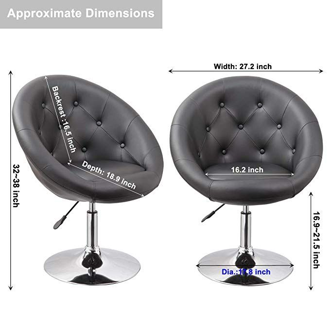 Amazing Offer On Yaheetech Adjustable Modern Round Tufted Back