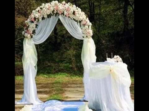 17 best images about wedding backdrops on pinterest for Arch decoration for wedding