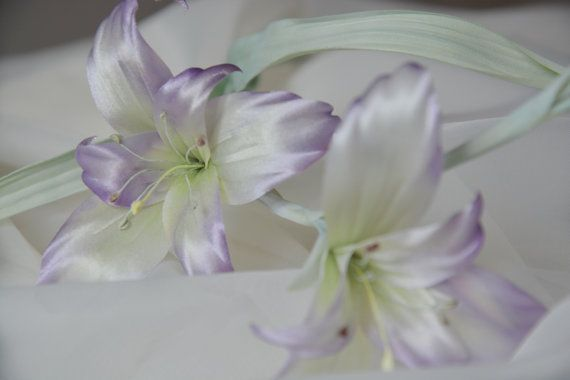 Шелковый цветок Гладиолус, шелковые цветы, украшения для невест, свадебный букет