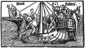 El Barco de los Locos. Durero by Phileas 1921, via Flickr