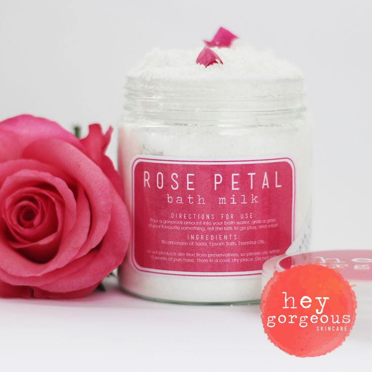A generous amount of our heavenly Rose Petal Bath Milk will relax and unwind you after a busy day. It soothes tired muscles, conditions the skin and oh-my-word, the fragrance of summer roses is out of this world
