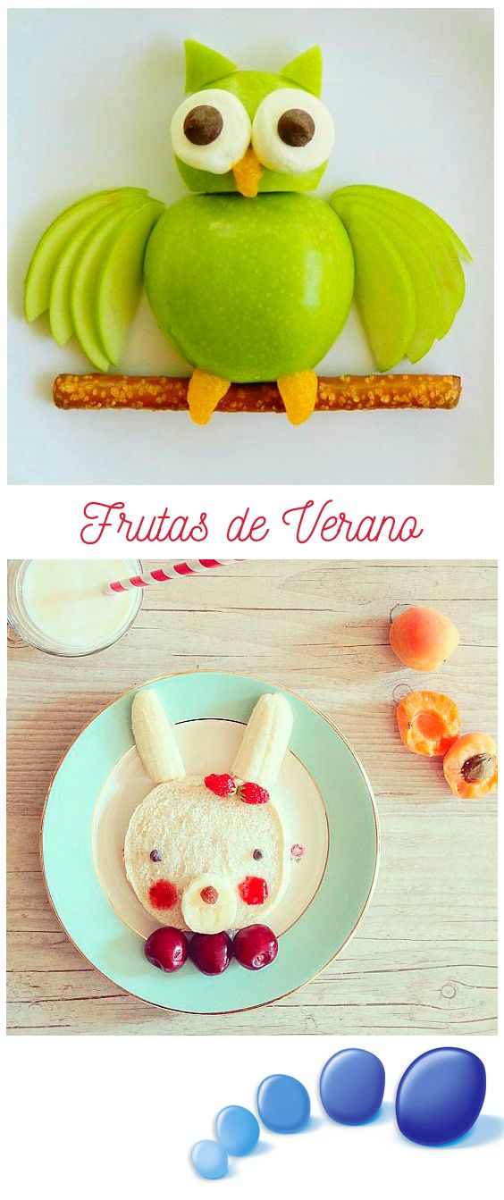 La temporada de verano es especial para incentivar el consumo de frutas y verduras en nuestros niñ@s. Para ayudar a la causa te dejamos unas buenísimas ideas para que esta tarea sea más divertida!