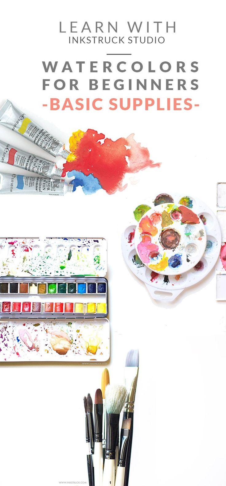 Watercolors for beginners -Zakkiya Hamza| Inkstruck Studio