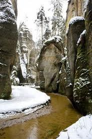 Adrspach National Park, Czech Republic