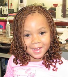 kinky twist braids for kids - Google Search
