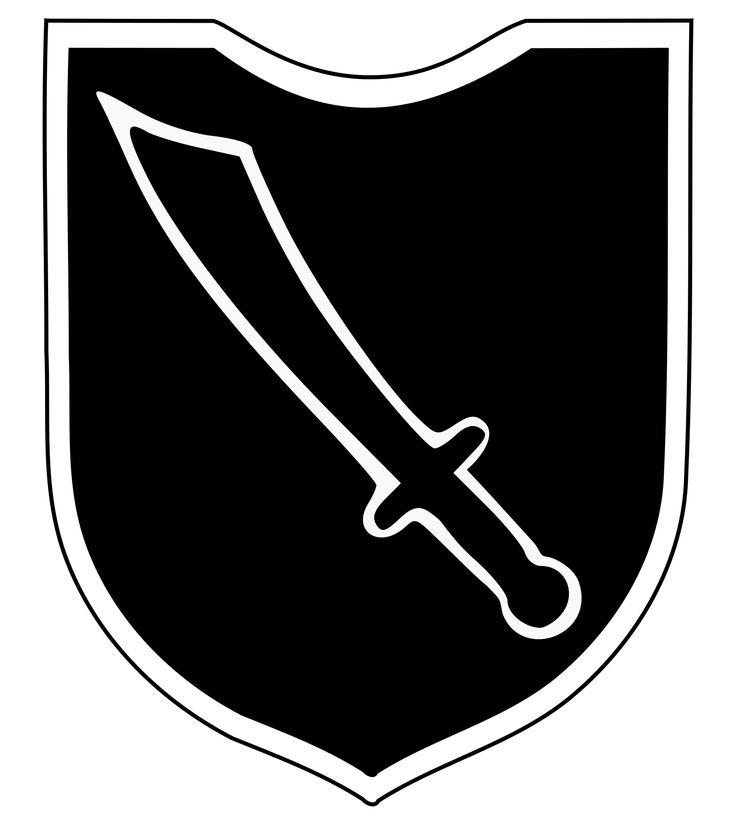 """Kroatische SS-Freiwilligen-Division später: 13. Waffen-Gebirgs-Division der SS """"Handschar"""" (kroatische Nr. 1) – Wikipedia"""