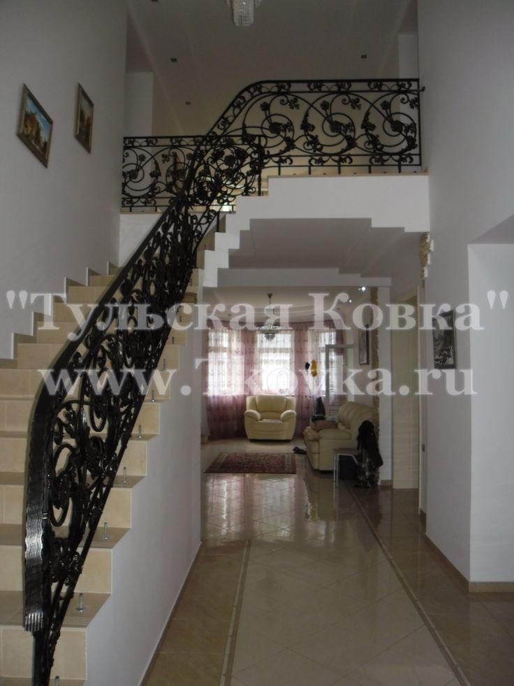 Кованые перила (Wrought iron railings)
