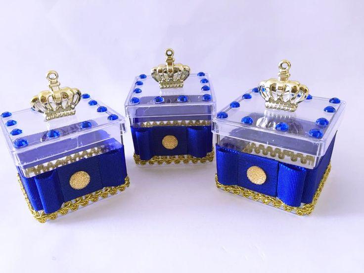 Caixa do Pequeno Príncipe   Caixa acrilica decorada  Tamanho: 6cmX6cm    Favor…