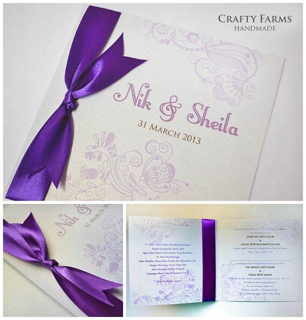 Creative Homemade Summer Wedding Invitations Summer Wedding Invitations Wedding Cards Homemade Wedding Invitations