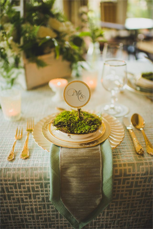 Gold and green golf themed wedding   Trenholm Photo   see more on http://burnettsboards.com/2014/02/vintage-golf-themed-wedding/