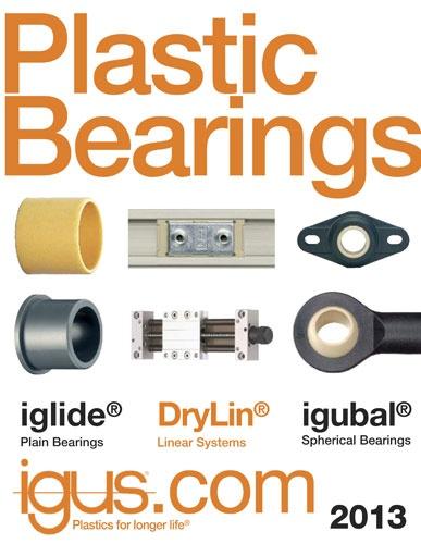 igus releases 2013 bearings catalog