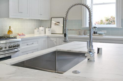 Make your kitchen faucet a soaker