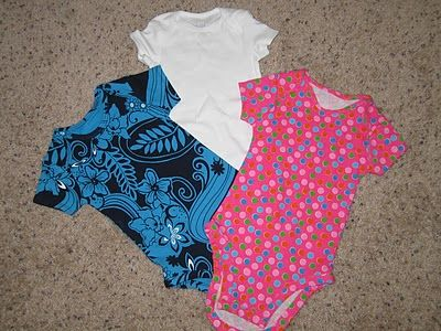 diy onesies out of t-shirts: tutorial and pattern :: candidly kate