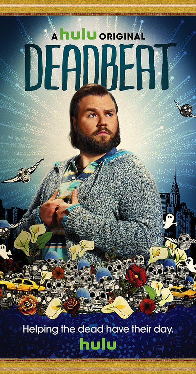 Deadbeat - Created by Cody Heller, Brett Konner.  With Tyler Labine, Brandon T. Jackson, Cat Deeley, Lucy DeVito. The series follows Kevin Pacalioglu, a medium for hire, who attempts to solve various ghosts' unresolved problems, so that they can move on to a final resting place, occasionally with the help of his best friend and drug dealer, Roofie.