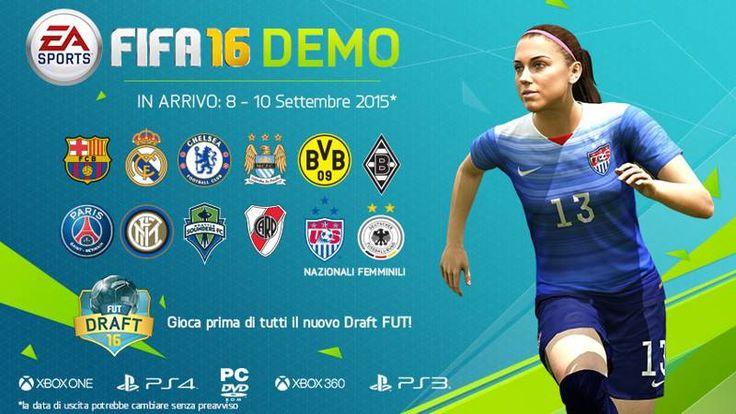 FIFA 16 raccoglie la sfida di Pes 2016: demo disponibile dall'8 Settembre  #follower #daynews - http://www.keyforweb.it/fifa-16-raccoglie-la-sfida-di-pes-2016-demo-disponibile-dall8-settembre/
