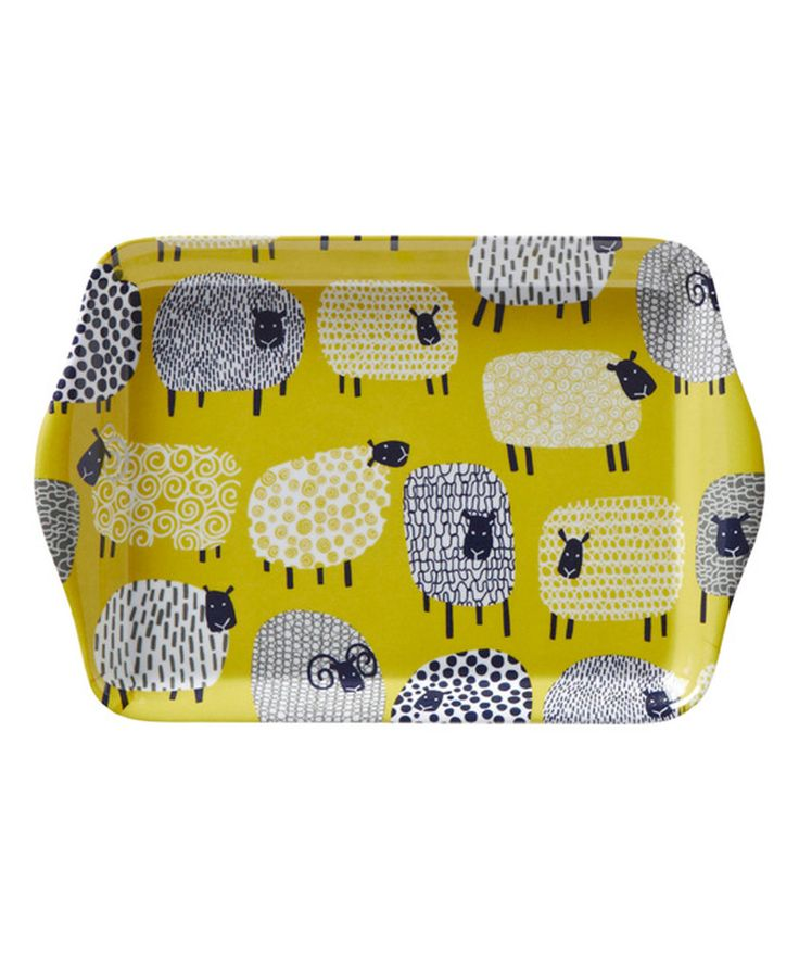 Look at this Small Dotty Sheep Scatter Tray on #zulily today!