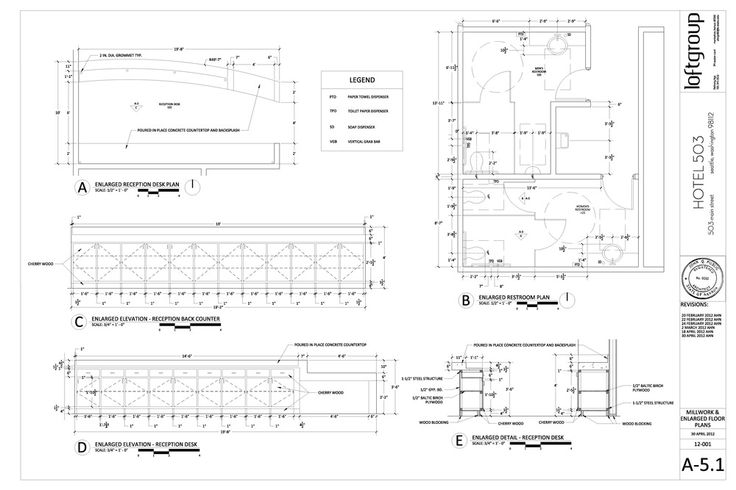 11 best construction document floor plans images on for Casework construction