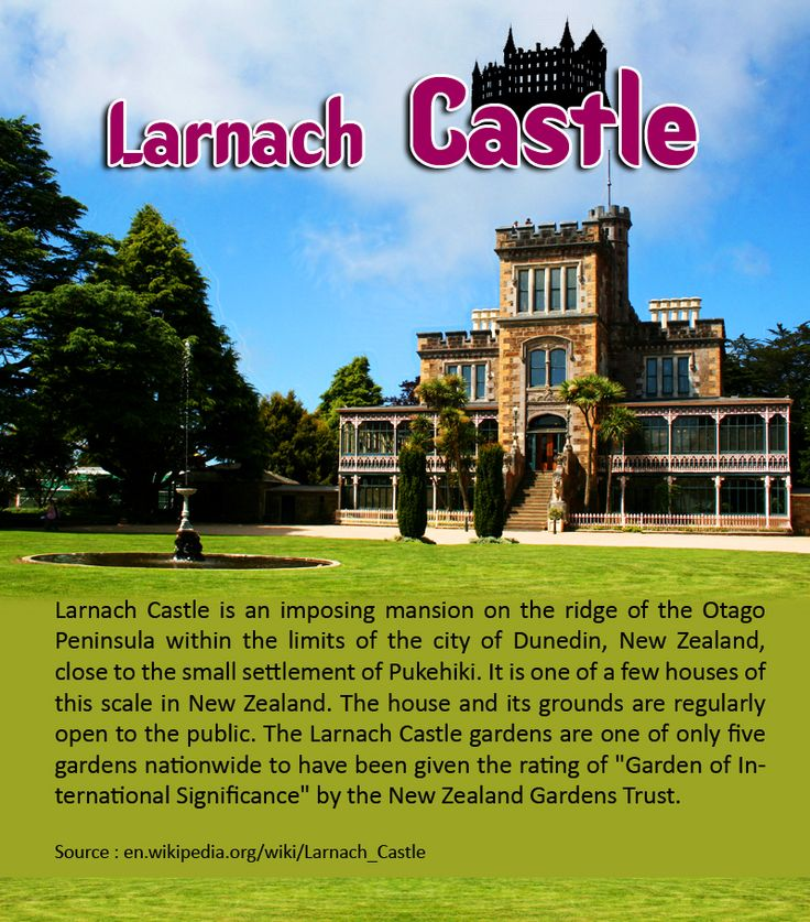 Larnach Castle - Dunedin, NZ :  Larnach #Castle is an imposing mansion on the ridge of the #Otago Peninsula within the limits of the #city of #Dunedin, New Zealand, close to the small settlement of #Pukehiki. It is one of a few #houses of this scale in New Zealand.  |    Source : en.wikipedia.org/wiki/Larnach_Castle  |    #larnachcastle #beautifulcastles #travel #kiwitravel #flightstodunedin  |     #NewZealand #travelexperts : http://www.kiwitravel.co.uk/flights/dunedin