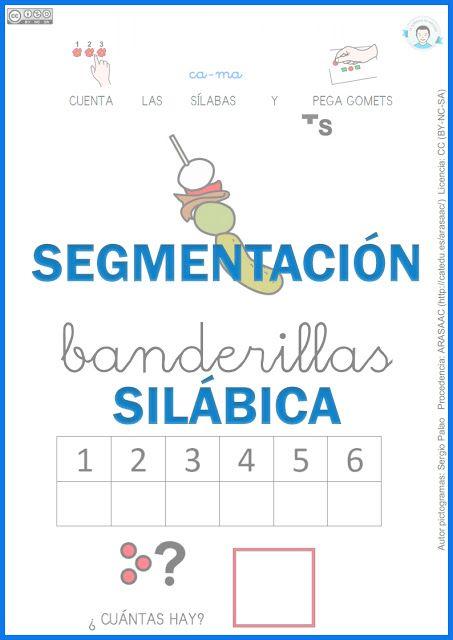 Fichas de segmentación silábica . Parte 4