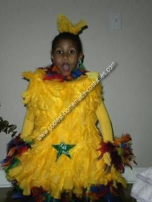 Maybe a hair piece idea.    Homemade Dr. Seuss Star Bellied Sneetches Costume: My child was having Dr. Suess day at her elementary school and they had to dress up like a character out of a Dr. Suess book.  Of course, my daughter wanted