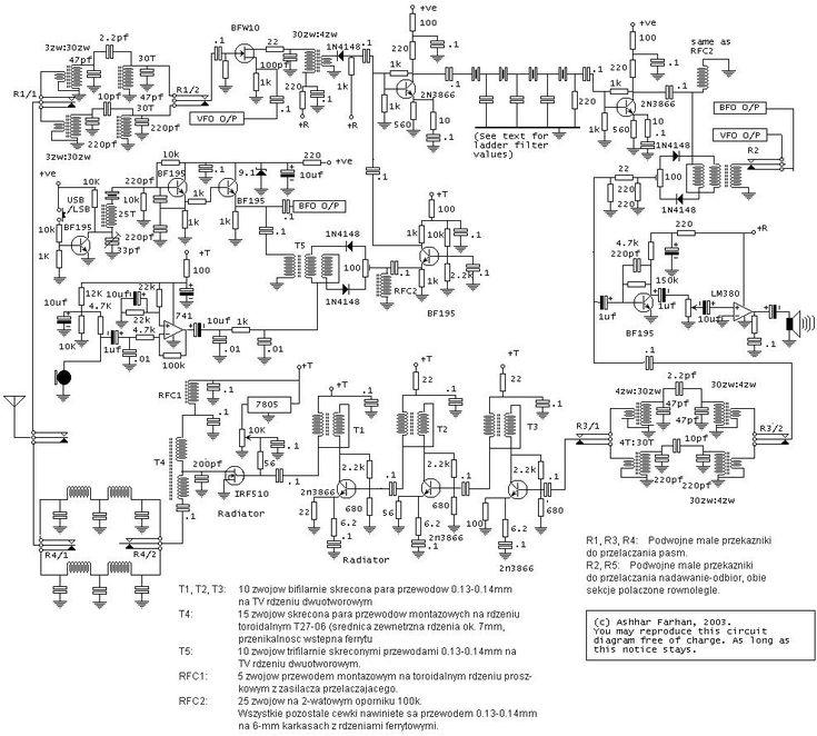 Prosty Transceiver Ssb  Pa Na Irf510