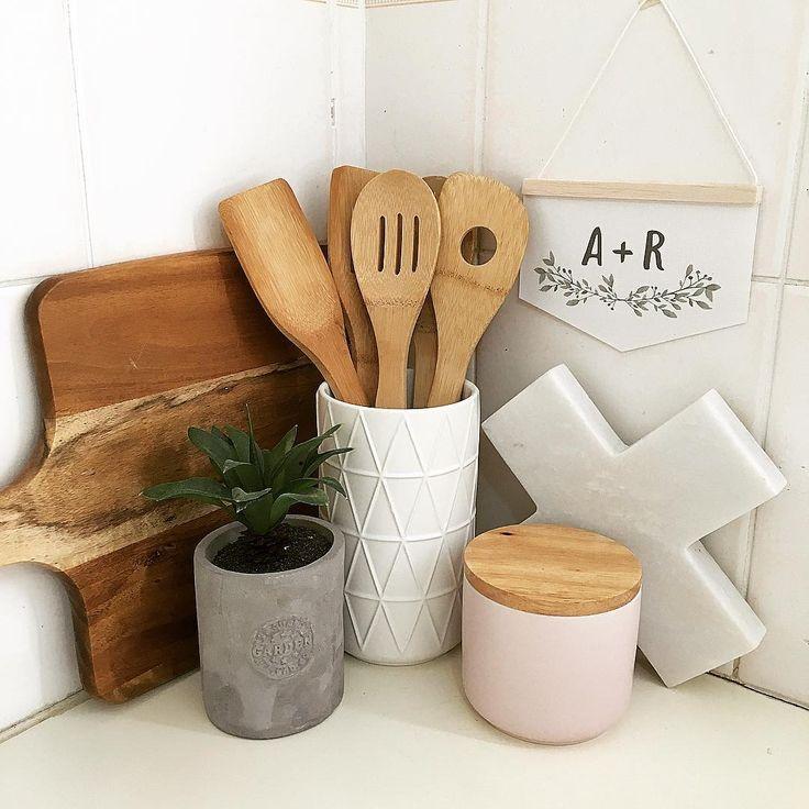 custom initial mini banner kitchen styling kmart styling kmart kitchen love…