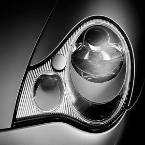 Basic Headlight Cleaning - How to Make Your Headlights Shine Like New by popularmechanics #DIY #Automotive #Headlight_Cleaning
