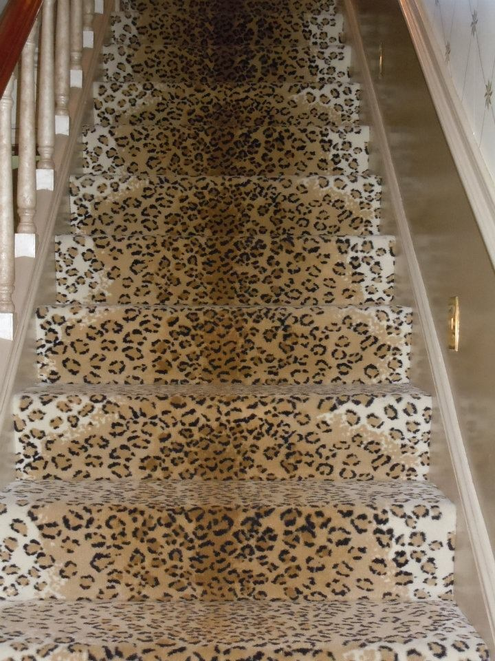 13 Best Leopard Stair Runners Images On Pinterest Stairs
