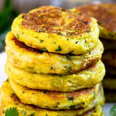 Indian Potato Patties [Vegan, Gluten-Free]