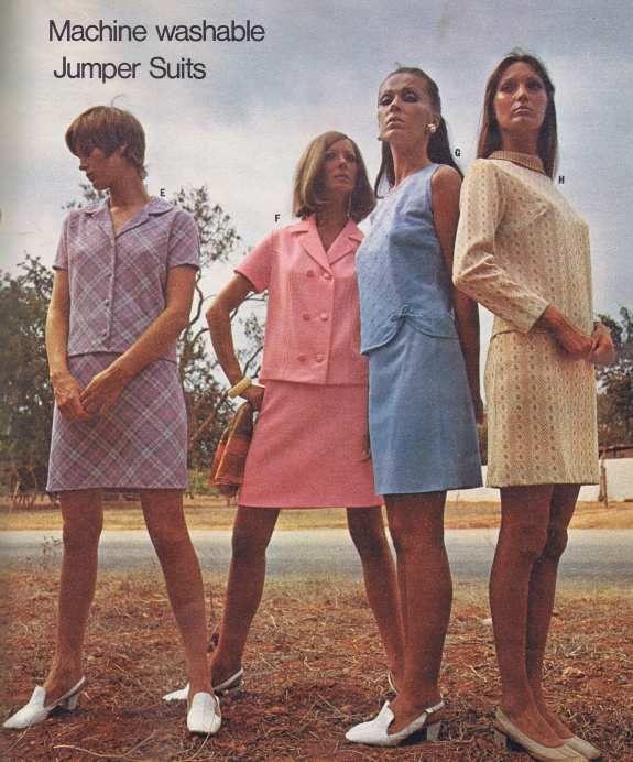 Jumper Suits #70s fashion