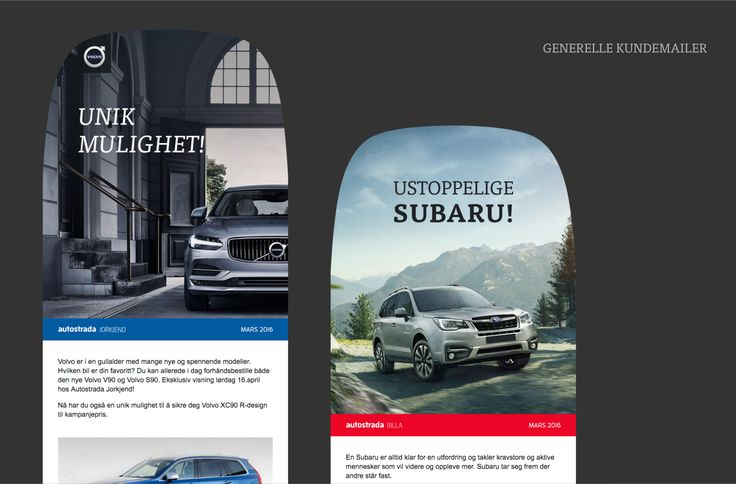 Newsletter for Autostrada