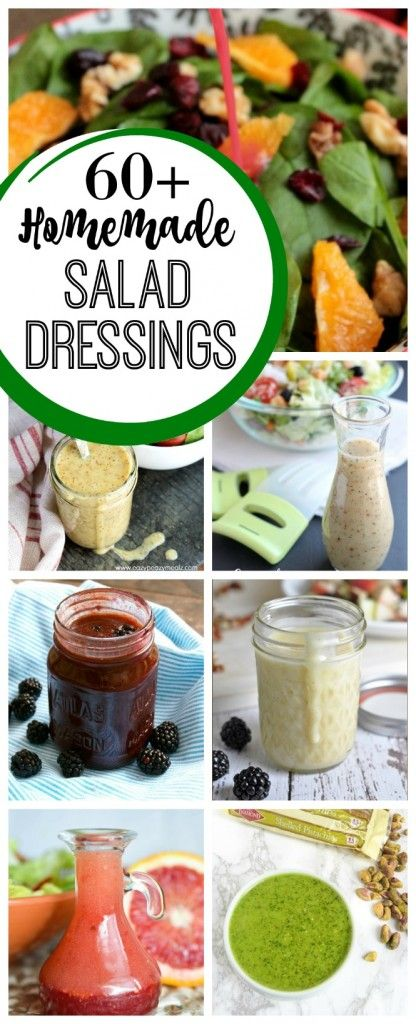 60+ Homemade Salad Dressing Recipes | Diary of a Recipe Collector