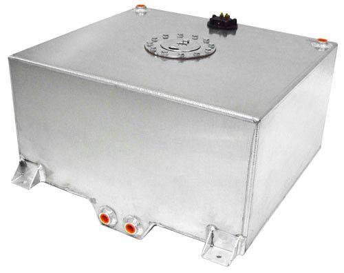 AF85-2150AS - Aluminium 15 Gallon (57L) Fuel Cell with Cavity/Sump & Fuel Sender