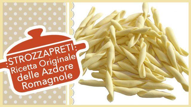 Videoricetta originale degli Strozzapreti, la tradizionale pasta italiana fatta in casa anticamente creata in Romagna.