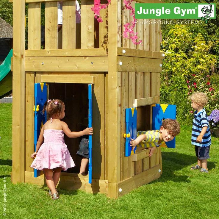 Jungle Gym Playhouse Module Small