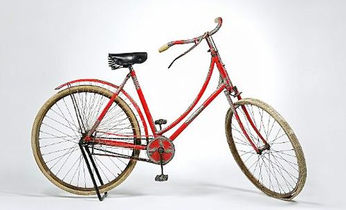 Tiffany's Bicycle -- $57,000.00  1890s built Tiffany fixed gear bicycle