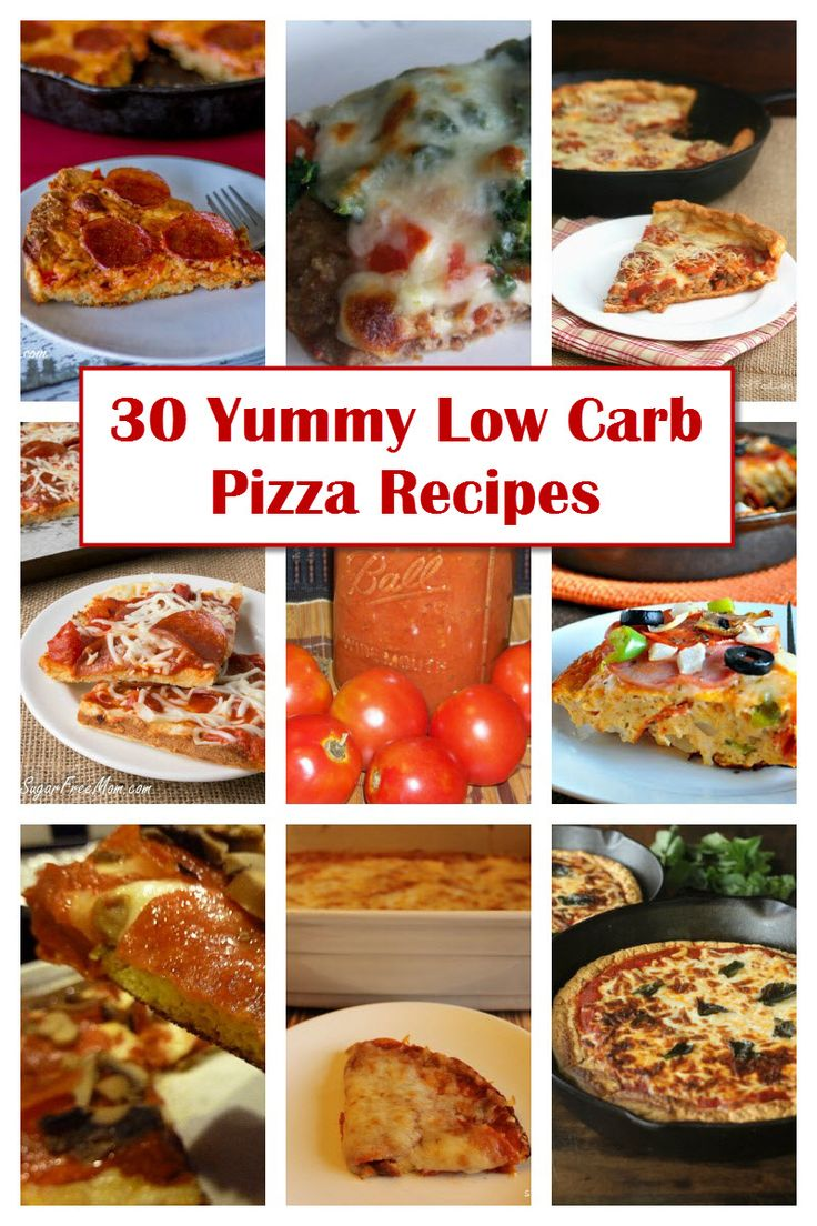 30 yummy low carb pizza recipes to be pizza and healthy. Black Bedroom Furniture Sets. Home Design Ideas