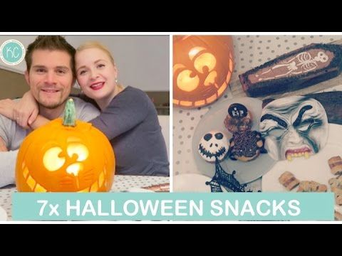 7x HALLOWEEN SNACKS: Doodskist Cake, Creepy Skull cupcakes | Kelly caresse